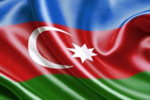 С символикой Азербайджана