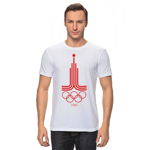 Мужская футболка Олимпиада 80