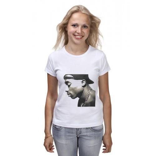 Женская футболка 2 pac