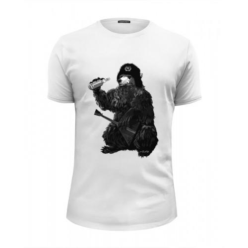 Мужская футболка Premium Медведь