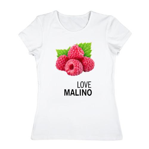Женская футболка хлопок LOVE MALINO