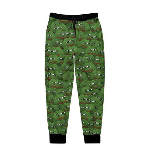 Мужские брюки 3D Грустные лягушки