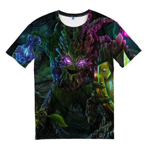 Мужская футболка 3D Purple Eyes