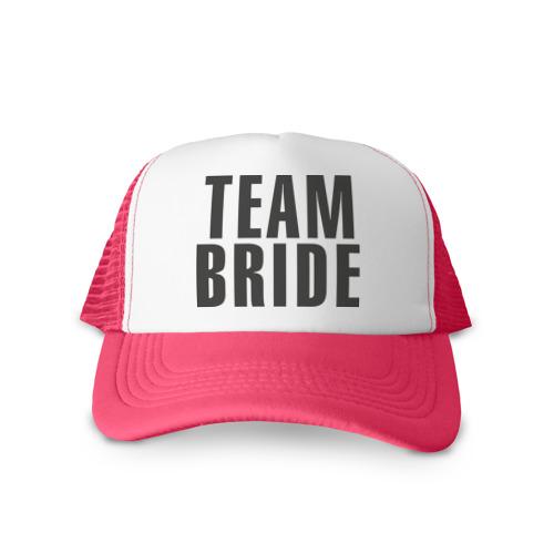 Кепка тракер с сеткой Team Bride
