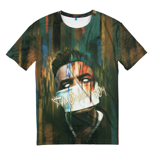 Мужская футболка 3D Sayonara boy 2