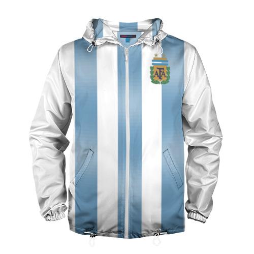 Мужская ветровка 3D Аргентина ЧМ 2018