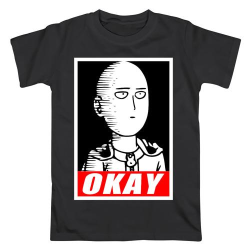 Мужская футболка хлопок Okay