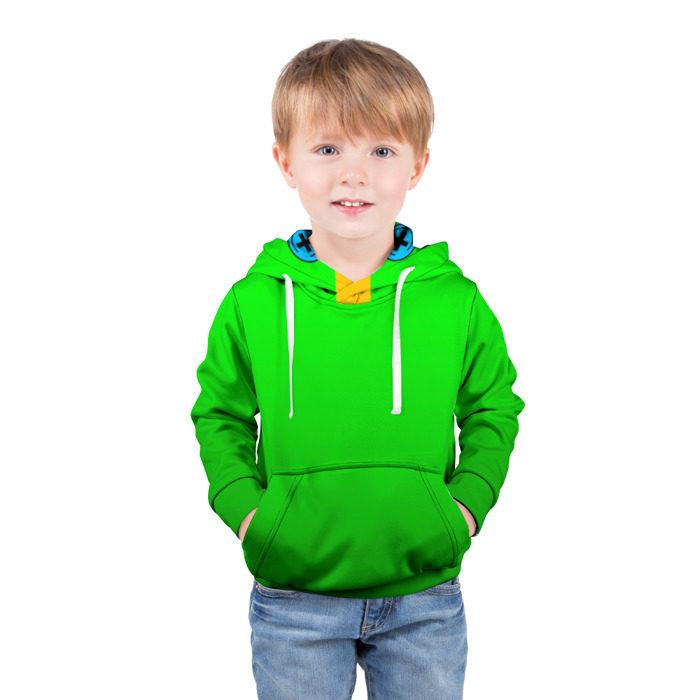 детская толстовка 3d Brawl Stars Leon купить по
