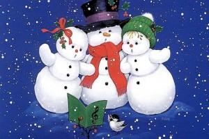 Одежда и аксессуары с принтами Снеговики