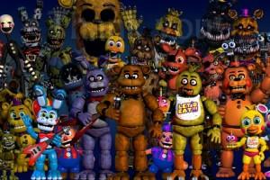 Выбираем одежду и аксессуары c принтами Five Nights At Freddys