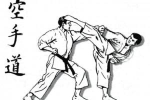 Одежда и аксессуары с символикой карате